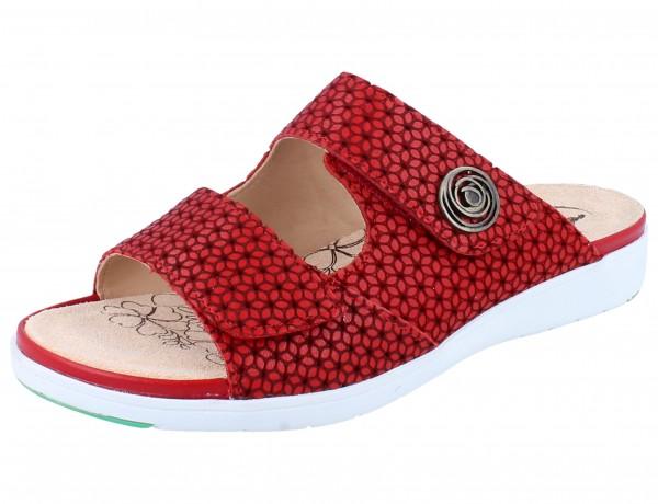 GANTER Gina G Pantolette red/Flora