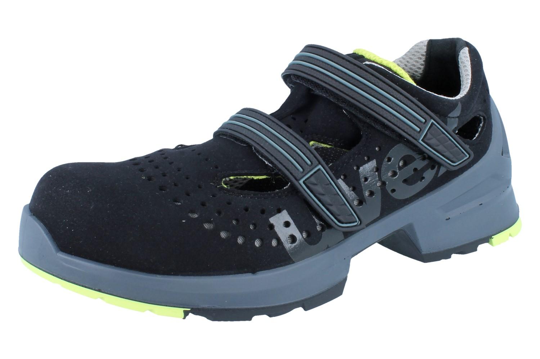 uvex 1 sandale 8542 8 s1 src schwarz sicherheitsschuhe s1 uvex arbeits berufsschuhe. Black Bedroom Furniture Sets. Home Design Ideas
