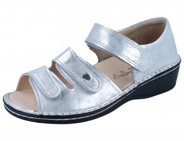 FINN COMFORT Usedom argento/Slide