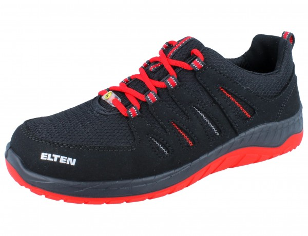 ELTEN Maddoxx W black-red Low ESD SRC S3 schwarz