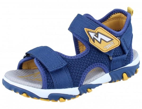 SUPERFIT Mike 2 blau/gelb Textil Weite M