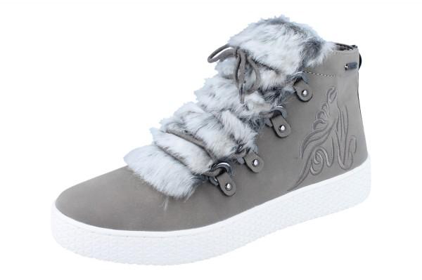 BUGATTI Fergie Revo hoher Sneaker grey/dark grey