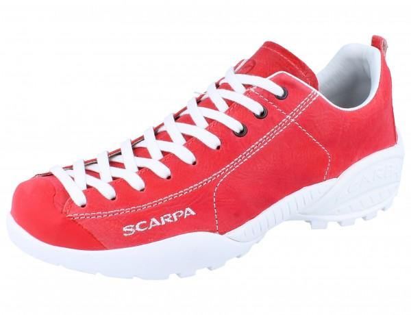 SCARPA Mojito red/Leder