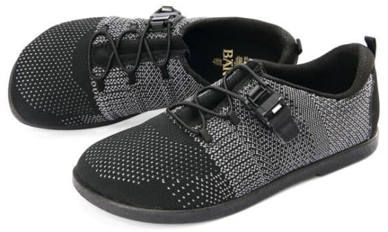 BÄR Schuhe Classic Francesco schwarz/grau Textil/Strickware vegan