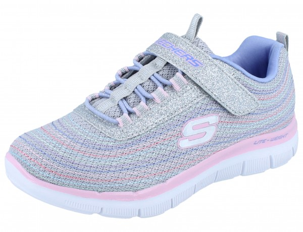 SKECHERS Girls Skech Appeal 2.0 grau/multi Mini-Metal Madness