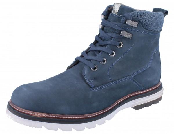 BUGATTI Tazzio dark blue/Leder