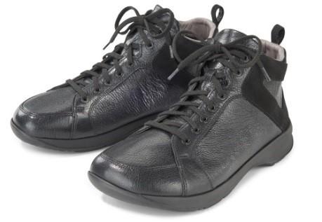 BÄR Schuhe Classic Silke schwarz Rindnappa/Kalbvelours hydro