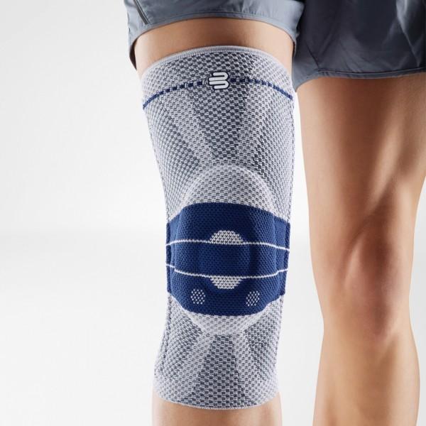 BAUERFEIND GenuTrain Kniebandage grau/blau
