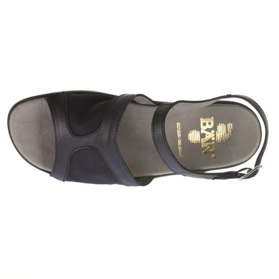 BÄR Schuhe Classic Frida schwarz Kalbnappa/Textil