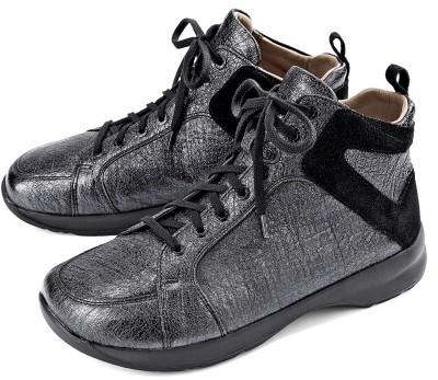 BÄR Schuhe Classic Silke schwarz Ziegenleder/Kalbvelours