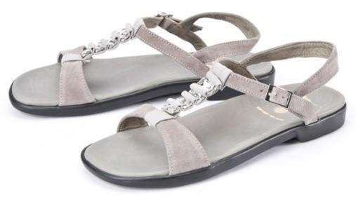 BÄR Schuhe Classic Saphira grau Kalbvelours hydro/Textil
