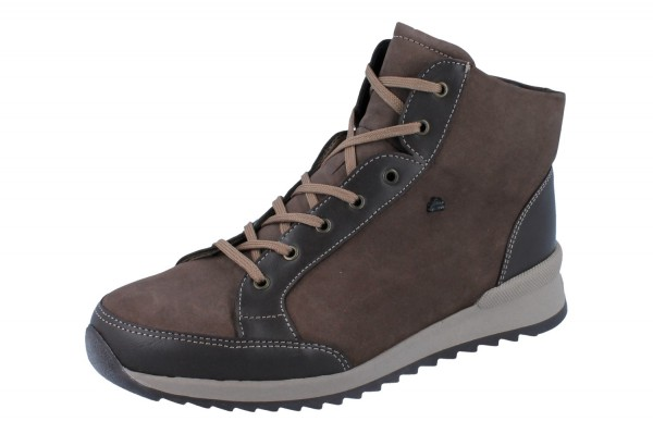FINN COMFORT Stiefel Linares grizzly/kaffee Cayenne/Nubuk
