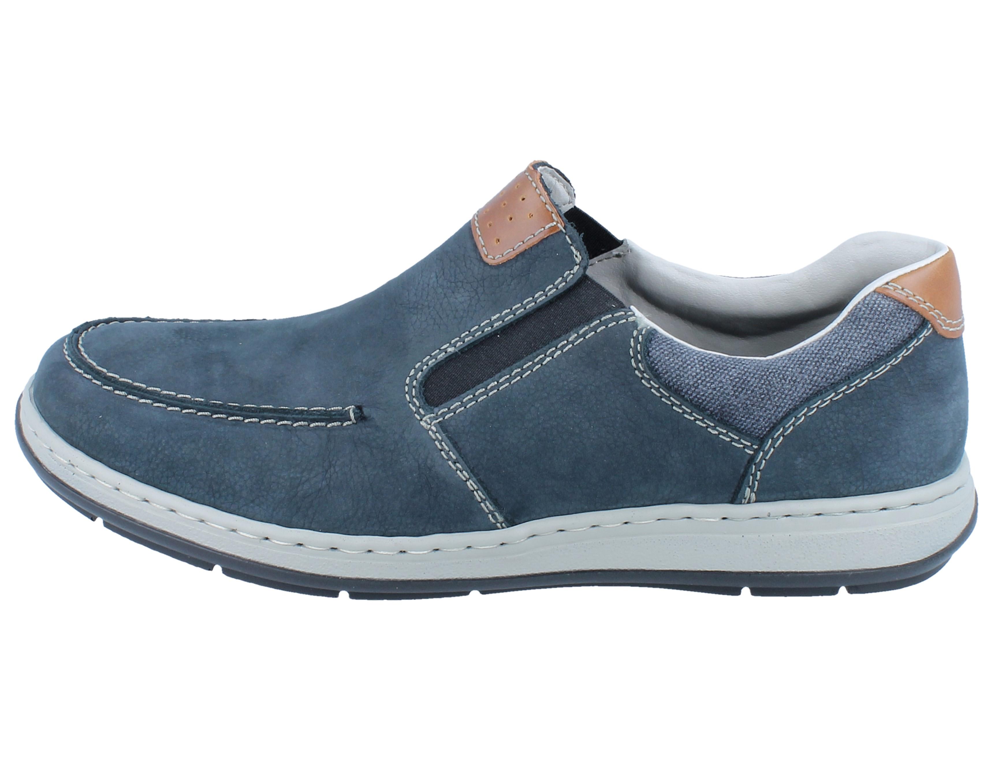 RIEKER 17360 15 Sneaker blau extra Weit | NEUE MODELLE 3kuWc