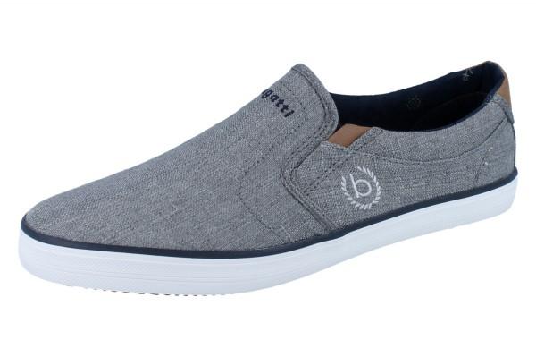 BUGATTI Alfa grey Slipper Textil