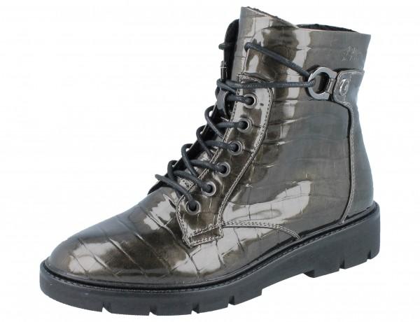 S.OLIVER 25240-25-225 Stiefelette grey croco