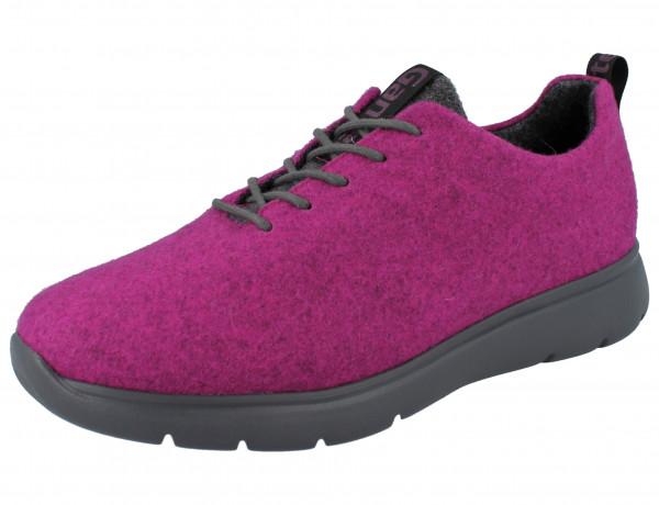 GANTER Gisi G pink/antrazit Merino/Textil