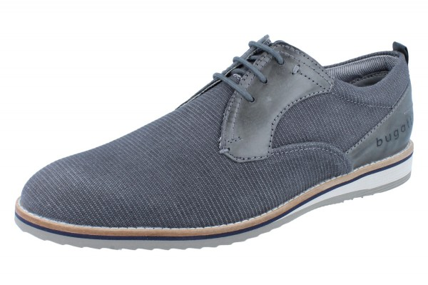 BUGATTI Conte light dark grey/dark grey Leder/Synthetik