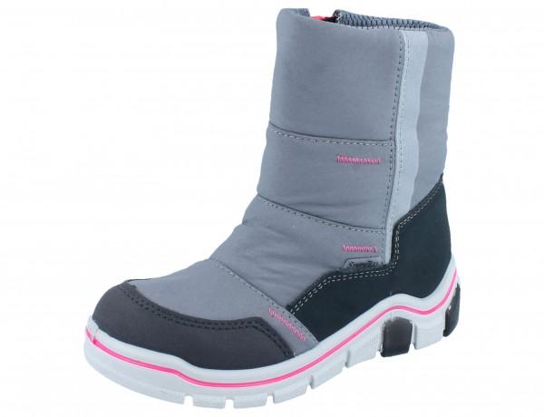 RICOSTA Maddox graphit/grigio/pink Textil Weite M