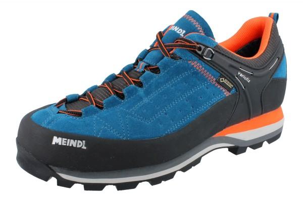 MEINDL Literock GTX blau/orange Velourleder/Mesh