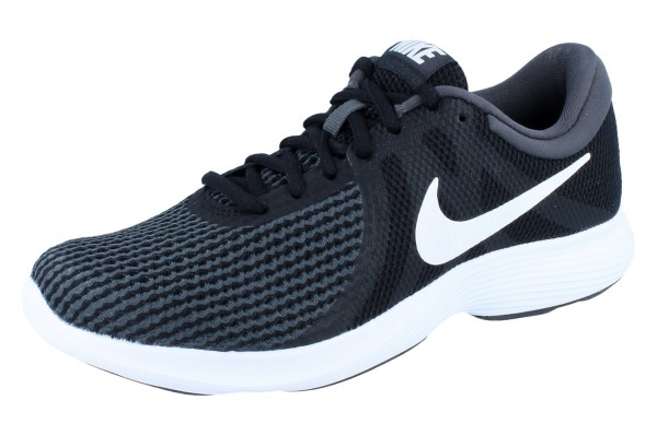 NIKE Revolution 4 Herren black/white/anthracite