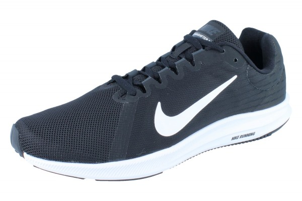 NIKE Downshifter 8 Herren black/white-anthracite