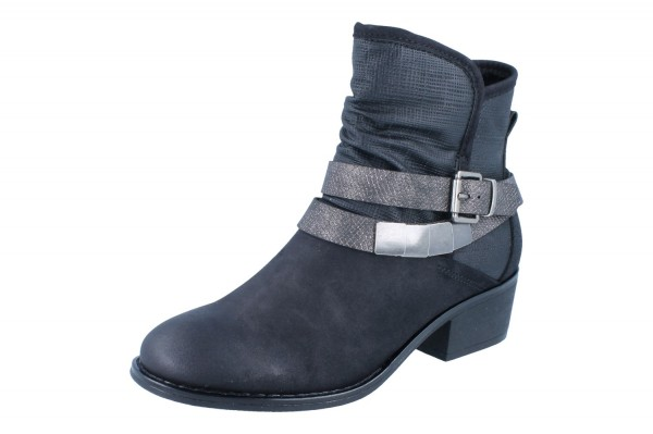 RIEKER Stiefel Vernal/Rivas/Roa schwarz/anthrazit