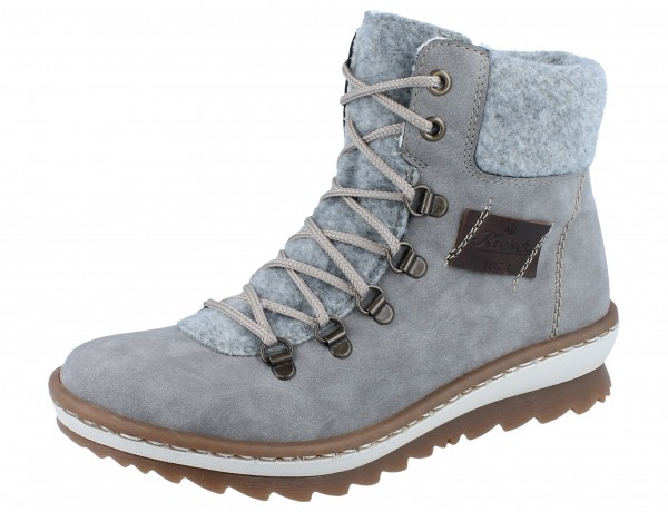 RIEKER Z8643-40 Stiefel grey