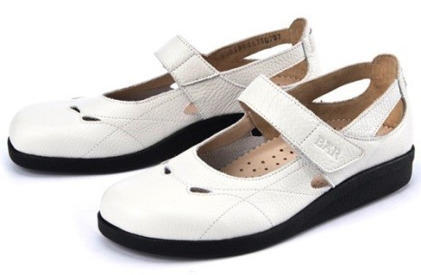 BÄR Schuhe Classic Orchilla weiß/Rindnappa