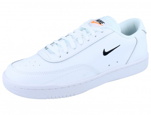 NIKE WMNS Court Vintage white/black-total orange