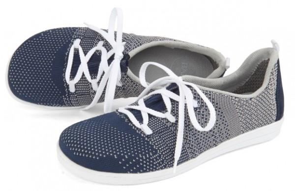 BÄR Schuhe Classic Mary blau/grau/Textil