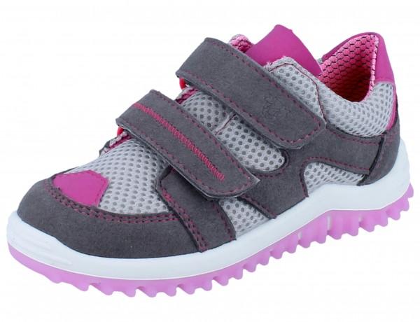 RICOSTA Pepe graphit/grau/rosa Textil Weite M
