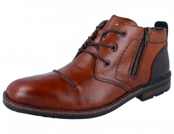 RIEKER B1344-24 Stiefel braun/Leder