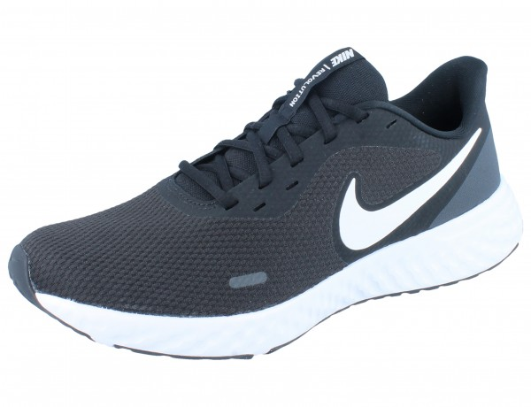 NIKE Revolution 5 black/white/anthracite