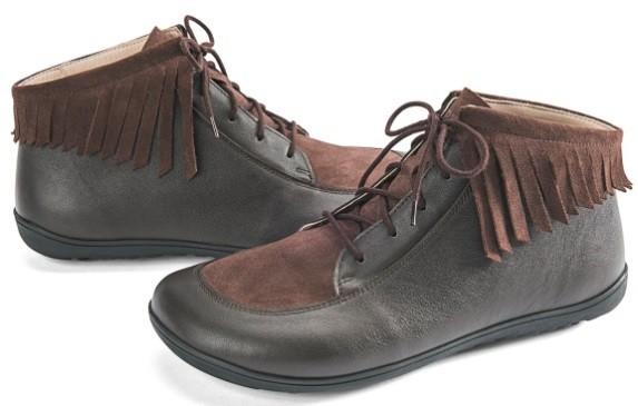 BÄR Schuhe Classic Poca dunkelbraun/Kalbnappa/Kalbvelours