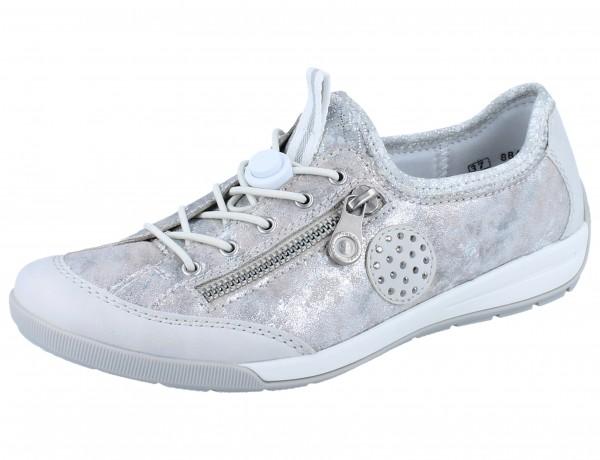 RIEKER M3063-81 Sneaker weiß/kombi