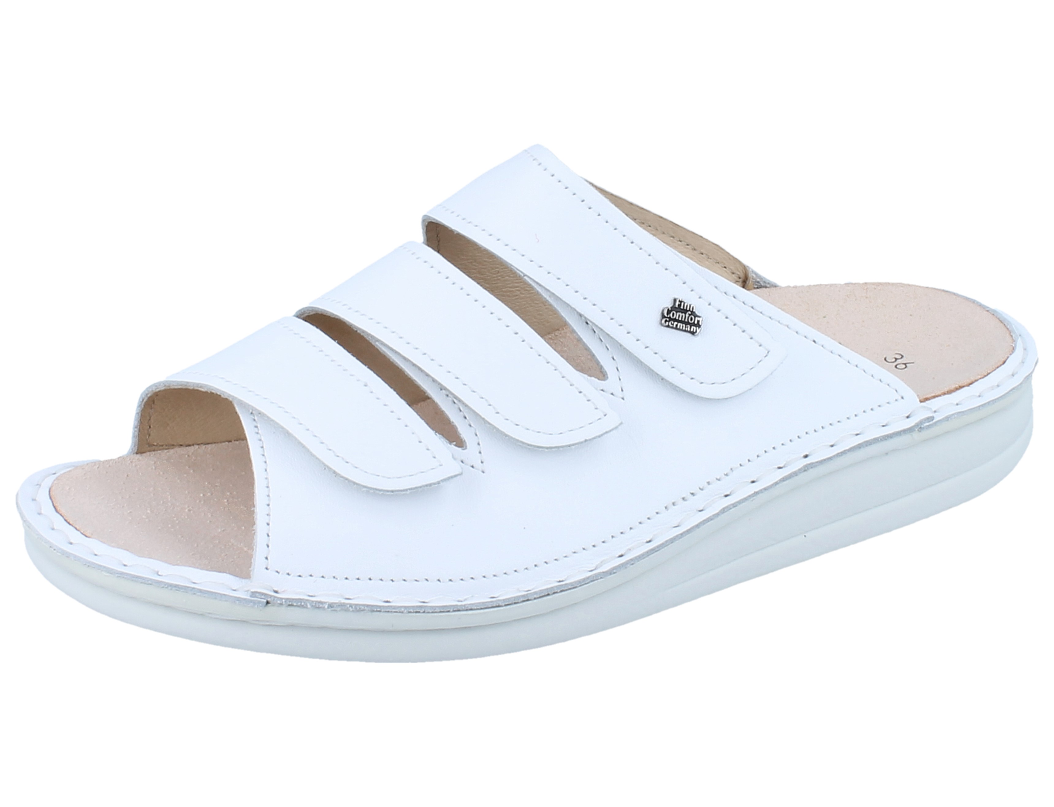 sale uk new collection nice shoes FINN COMFORT Korfu weiss/Nappa