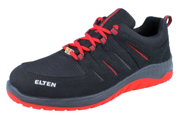 ELTEN Maddox black-red Low ESD SRC S3 schwarz