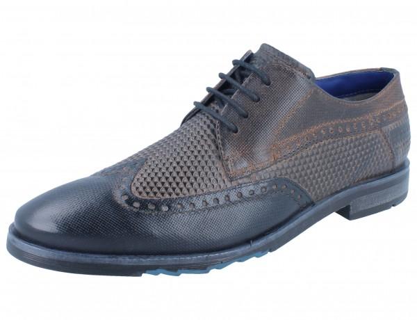 BUGATTI Libero dark blue/grey Leder