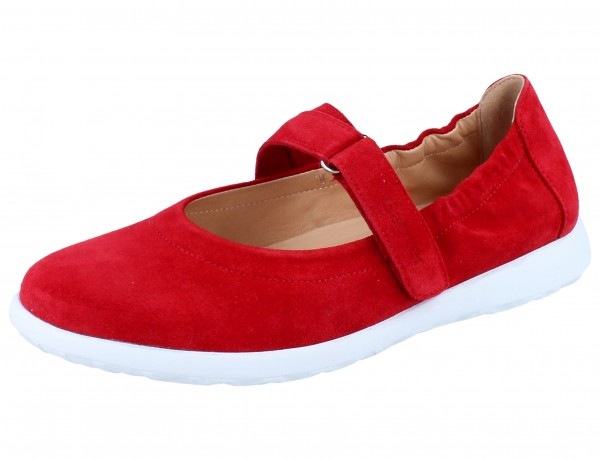 GANTER Gabby G Slipper red/Casualvelour