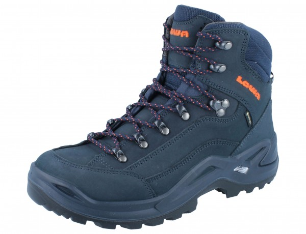 LOWA Renegade GTX Mid navy/orange