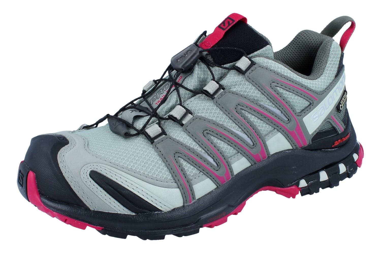 Salomon X Ultra GTX Schuhe Salomon Kinder Stiefel Sangria