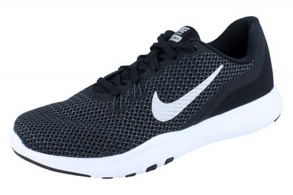 NIKE Flex Trainer 7 w black/metallic silver
