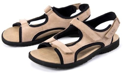 BÄR Schuhe Extratourer Manila beige Kalbvelours