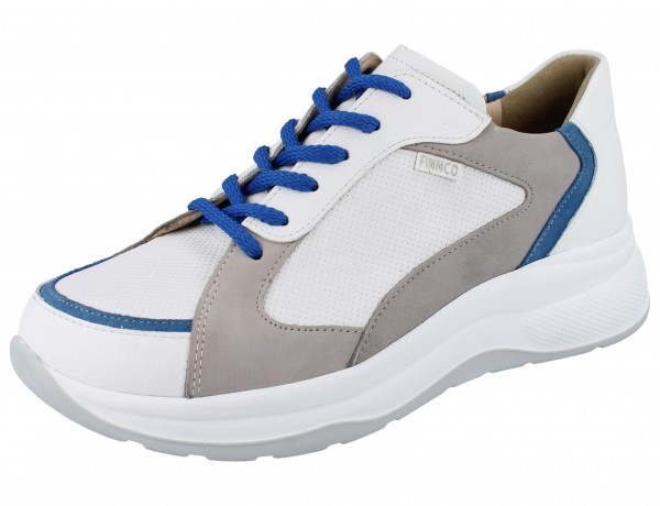 FINN COMFORT FINNCO Piccadilly weiss/blue/pashmin Clio/Velour/Fakir/Nubuk