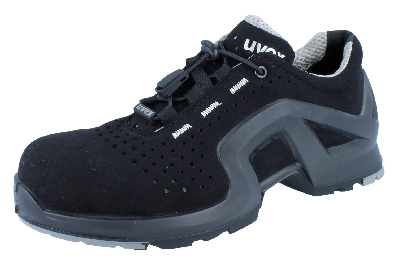uvex 1 x tendend support halbschuh 8511 8 s1 src schwarz sicherheitsschuhe s1 uvex arbeits. Black Bedroom Furniture Sets. Home Design Ideas