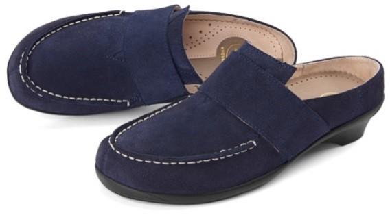 BÄR Schuhe Exquisit Isabella dunkelblau/Kalbvelours