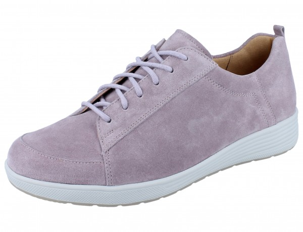 GANTER SENSITIV Klara K Schnürhalbschuhe rose/Casualvelour