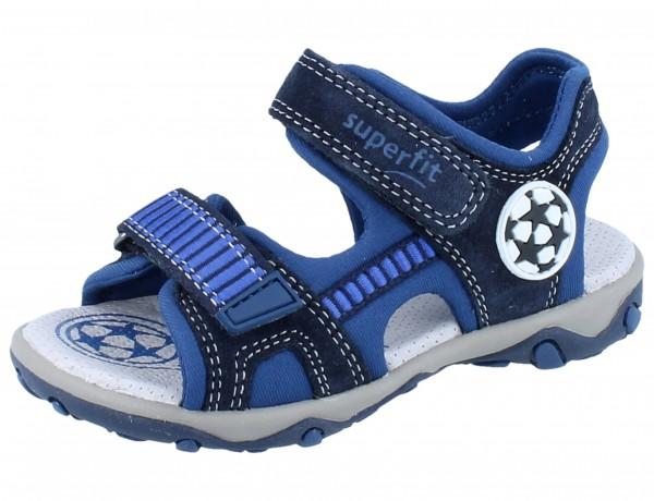 SUPERFIT Mike 3.0 blau/blau Tecno/Textil Weite M