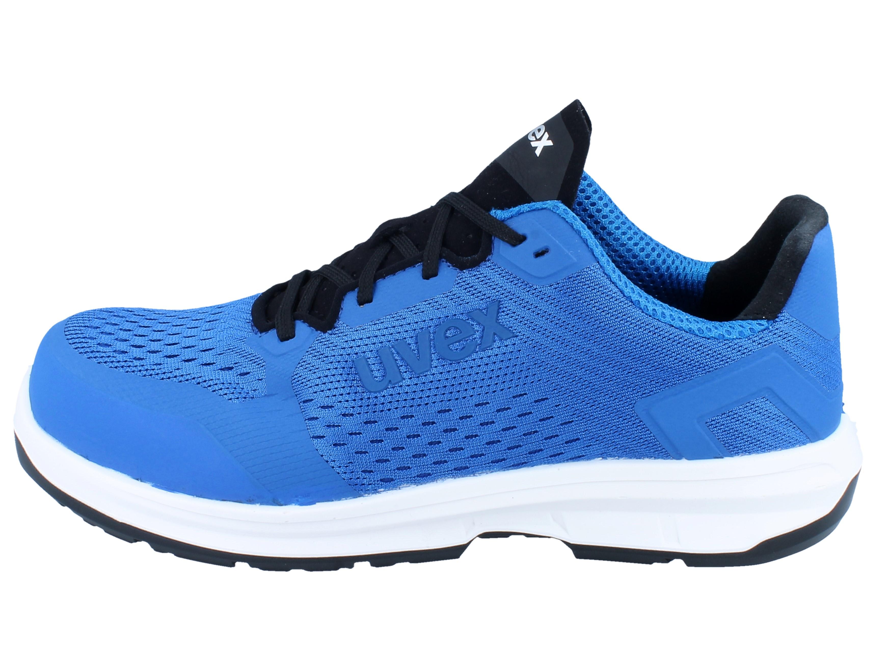 UVEX 1 sport Halbschuh 6599.8 S1 SRC Weite 11 blau