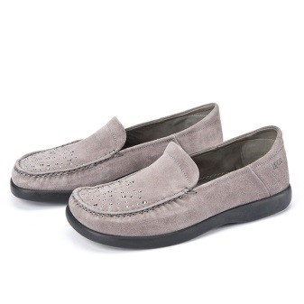 BÄR Schuhe Classic Ronja grau/Kalbvelours hydro